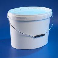Elliptical bucket 16 L